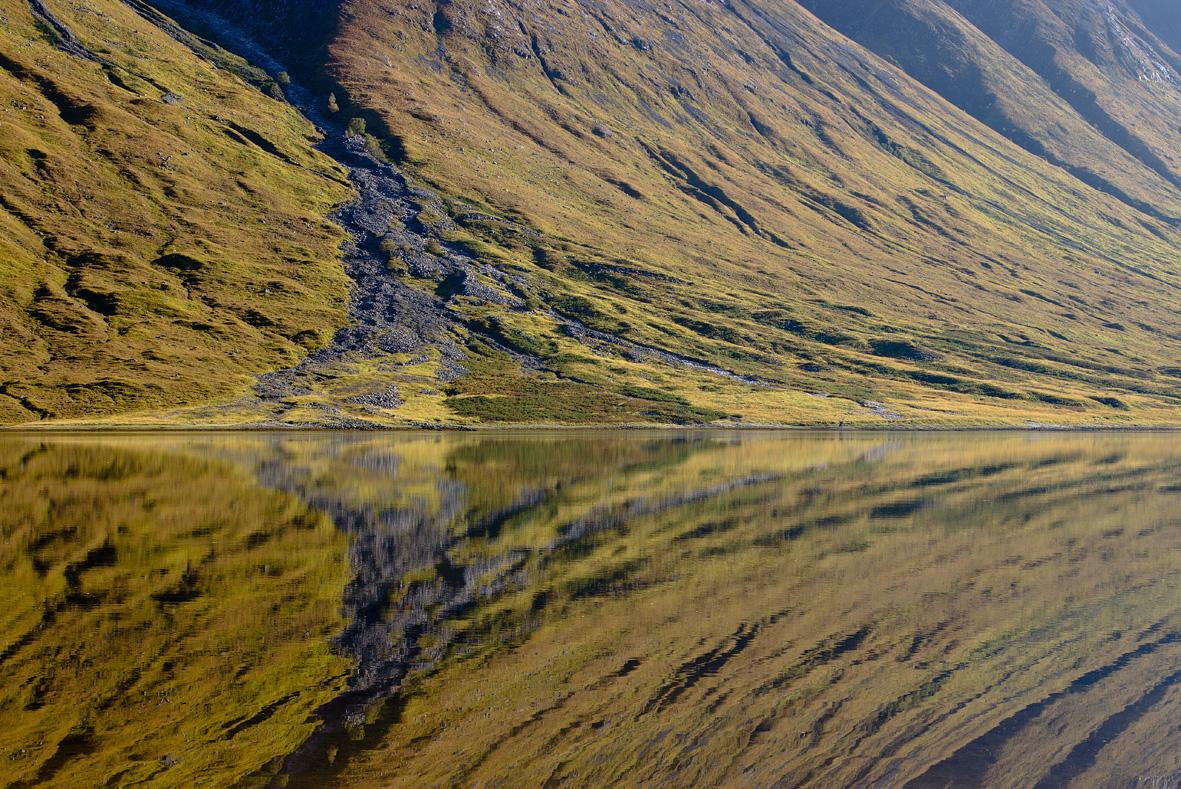 Glen Etive Scotland Autumn Reflection