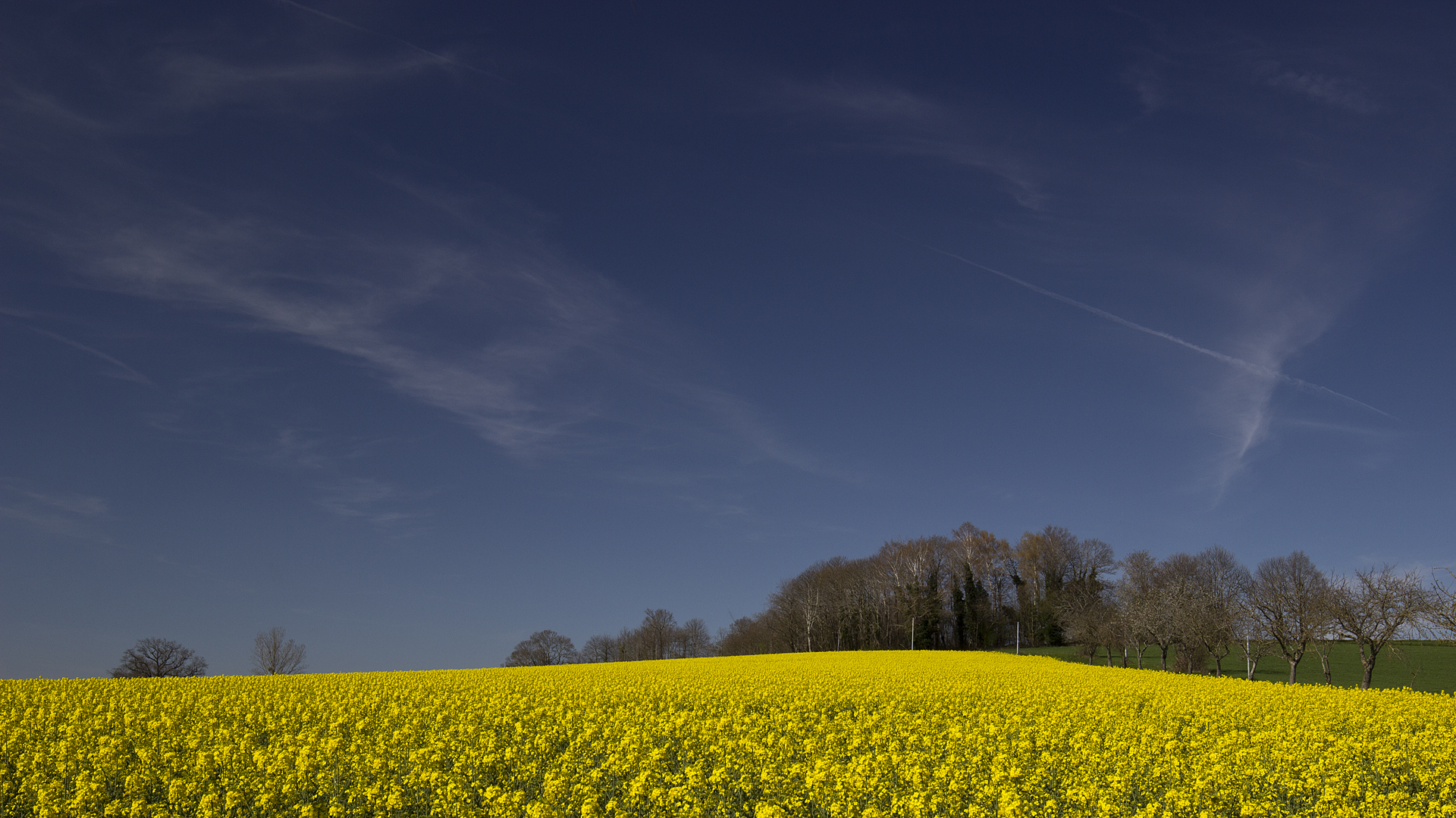 French landscape Aveyron